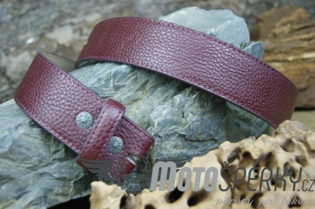 OPASEK REPRO LEATHER RED