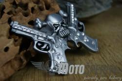 Přezka opasková Skull Bones Gun