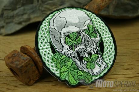 Nášivka Skull Irisch